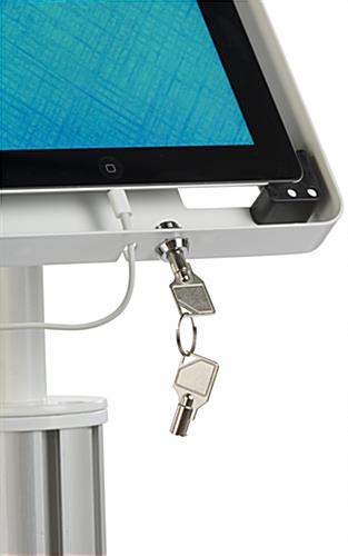 iPad Retail Display Stand with Security Feature