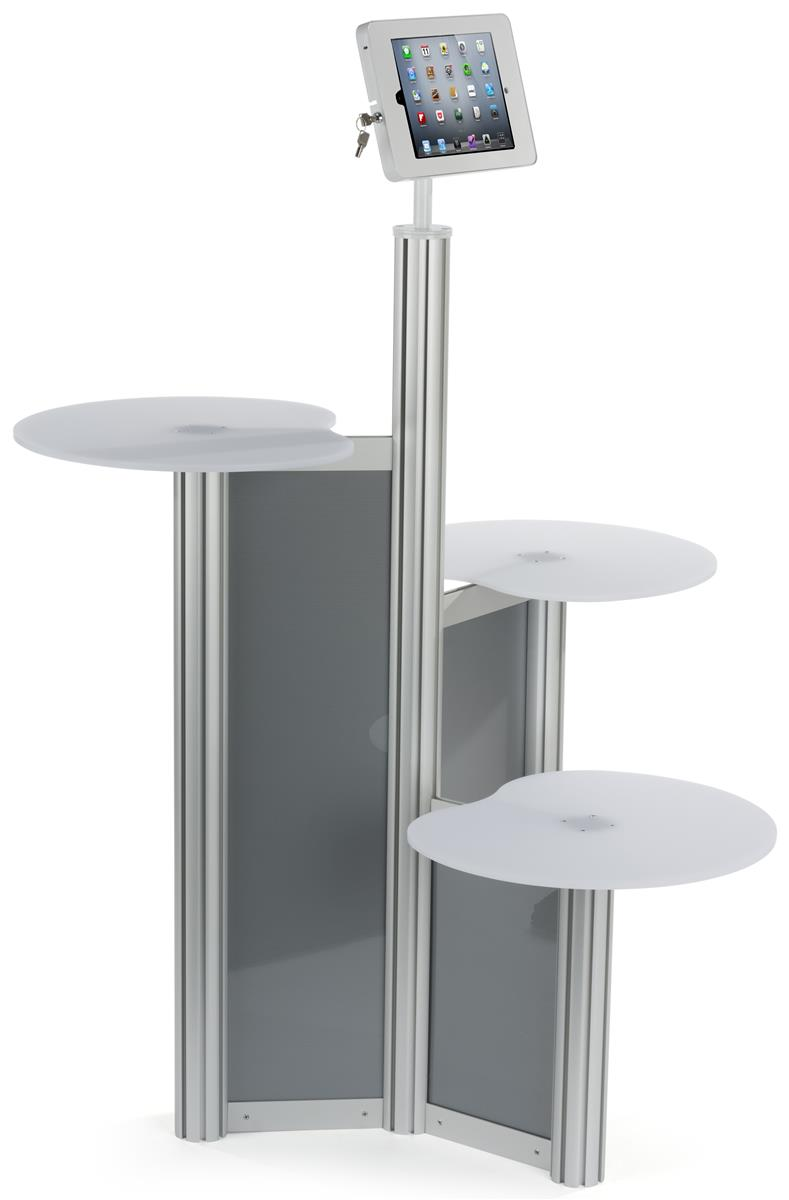 Exhibition Stand Floor : Ipad retail display stand multiple acrylic tabletops