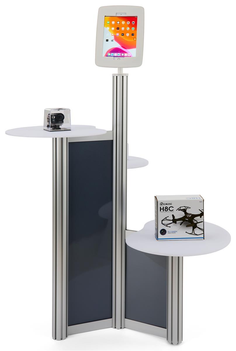 Ipad Retail Display Stand Multiple Acrylic Tabletops