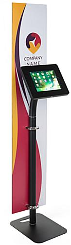 Custom Branded Tablet Security Kiosk with Rotating Bracket