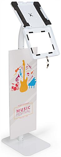Custom Branded iPad Security Stand with Padding