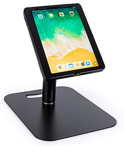 iPad pro floor stand holder in countertop mode