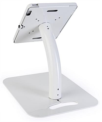 "11"" iPad pro adjustable stand with rotating enclosure"