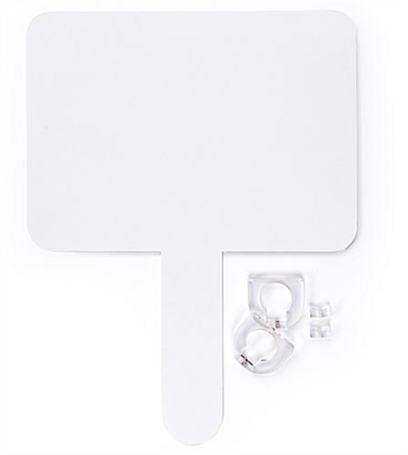 Replacement header for iPad floor stand kit