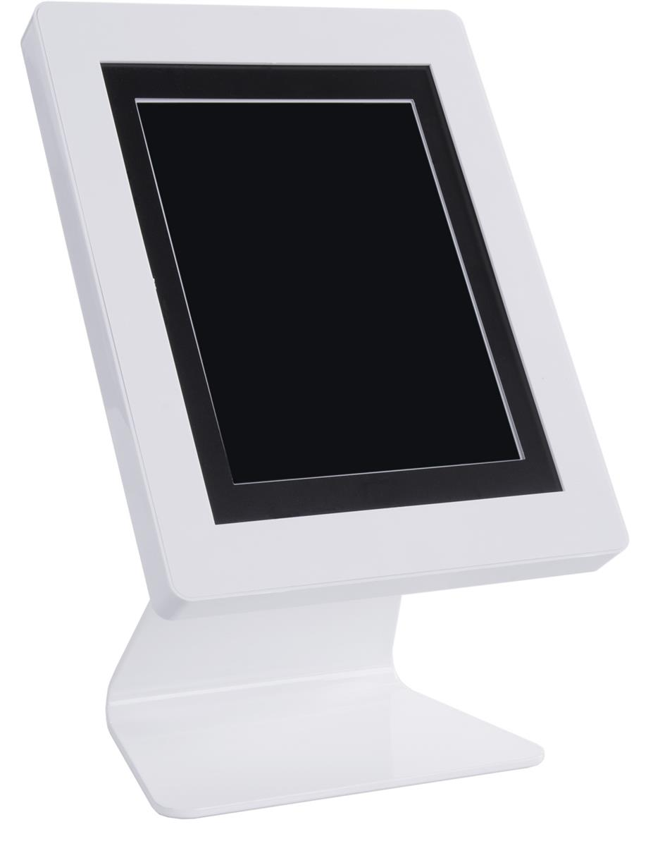 Displays2go iPad Tablet Counter Stand with Adjustable Pad...