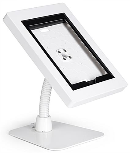 Flex arm iPad tablet holder for a variety of Apple products