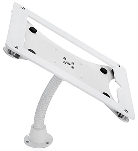 Flexible tablet mount holder for iPad with hardware included