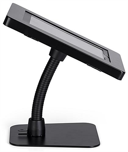 iPad anti-theft tablet stand holder with gooseneck arm