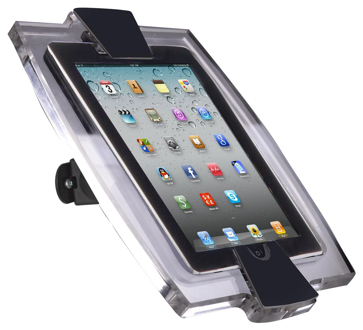Ipad Mini Wall Enclosure Rotating Frame