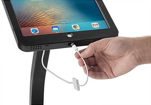 iPad Pro 12.9 Floor Stand with Lightning Cable