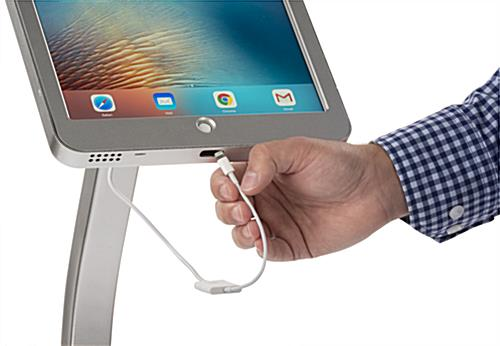 iPad Pro Kiosk Enclosure with Lightning Adapter