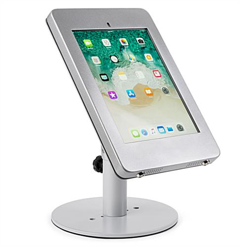 "Countertop locking iPad Pro tablet holder housing 10.5"" model"