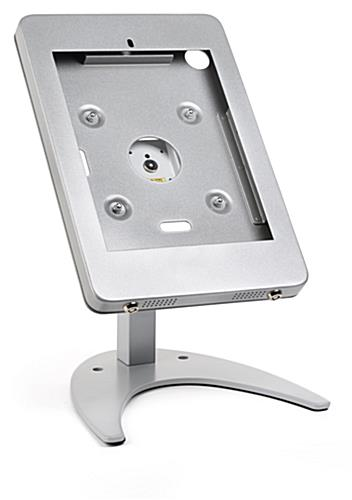 "Countertop iPad Pro locking tablet holder stand for 10.5"" device"
