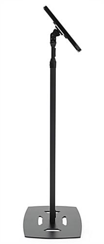 iPad Pro freestanding floor stand with angle adjustment options