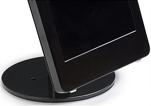 iPad Pro Table Stand with Weighted Base