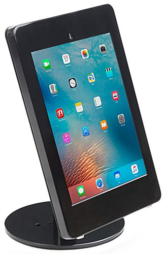 Black iPad Pro Table Stand