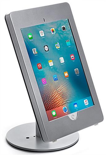 Silver Adjustable iPad Pro Stand