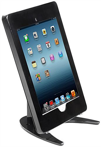 Black iPad Pro Counter Holder