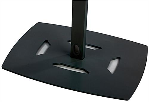 Locking iPad Pro Stand with Weighted Base