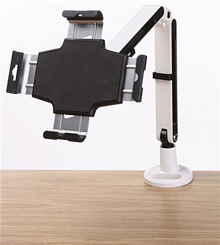 iPad Desk Mount with Portrait or Landscape View