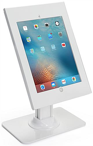 White iPad Pro Vertical Stand