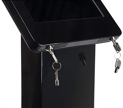 Locking Promotional iPad Pro Kiosk
