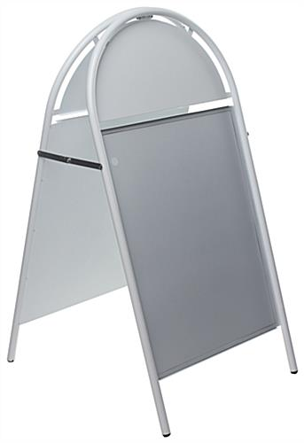 22 x 28 Metal A-Frame Sign | White Finish & Double-Sided Display