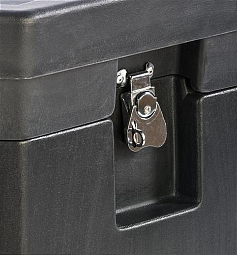 Trade Show Carrying Case with Two Securing Butterfly Latches