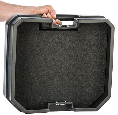 Trade Show Carrying Case with Handle