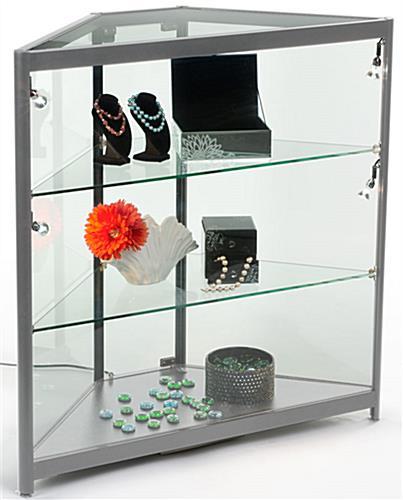 LED Corner Display Case