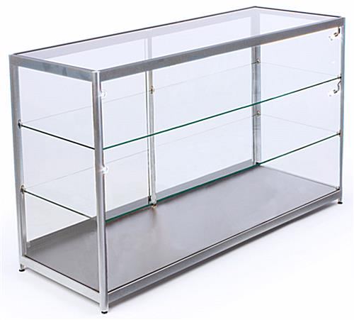 Tempered Glass LED Counter Display Case