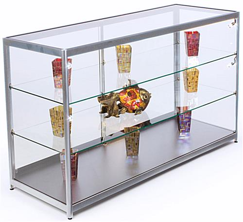 "72"" Wide LED Counter Display Case"