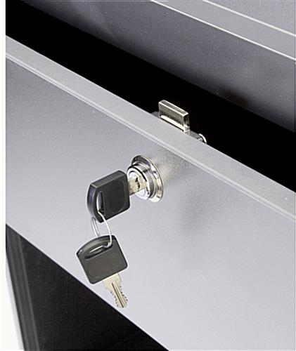 "Cash Counter Measures 24""w - Silver Finish"