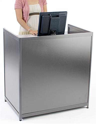 cash register stand for standing users