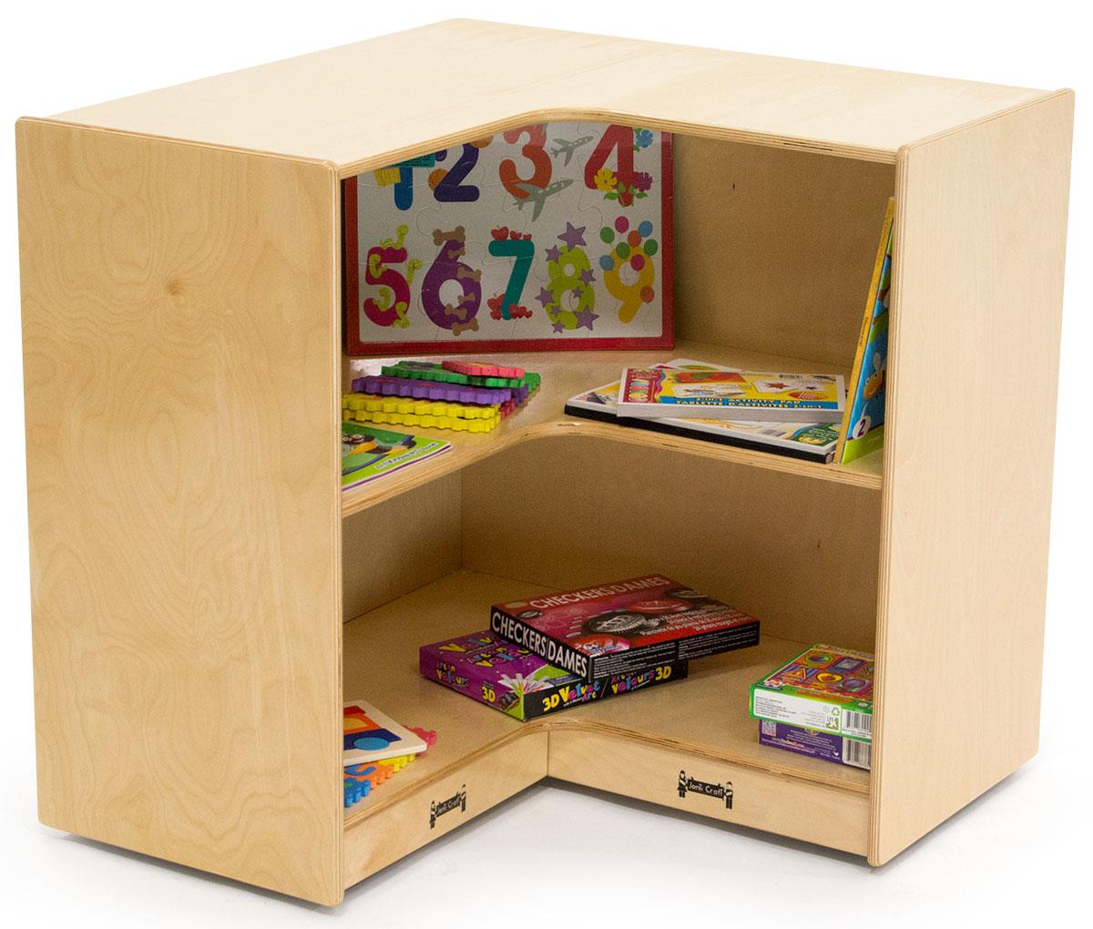 Childrens Corner Storage Case Deep Shelves