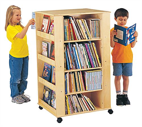 Mobile Kids Book Organizer