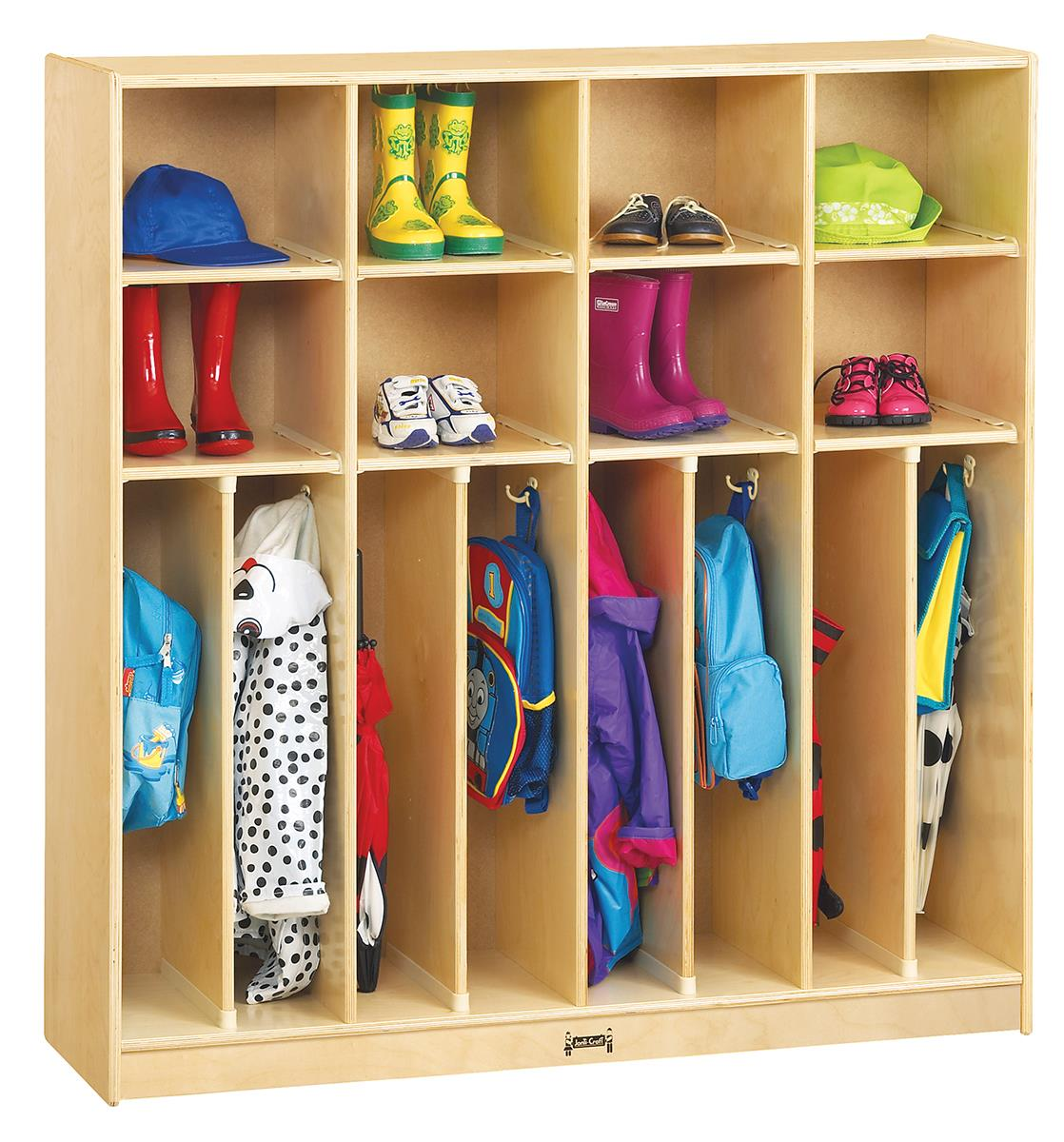Childrens Wooden Clothing Lockers Baltic Birch Construction