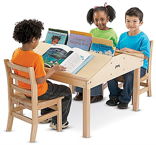 Kids Reading Table Ergonomic Workstation