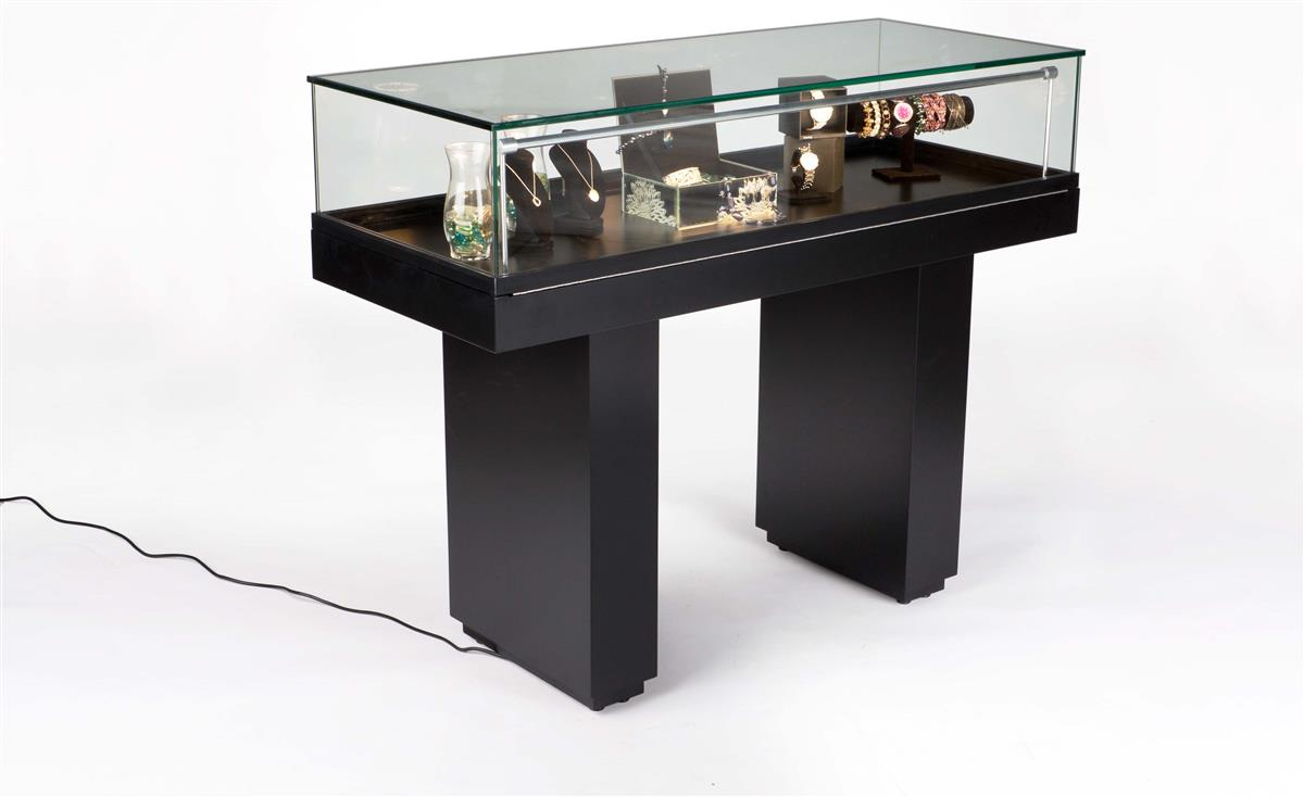 Led display case hydraulic lift jewelry case for Solidworks design table zoom