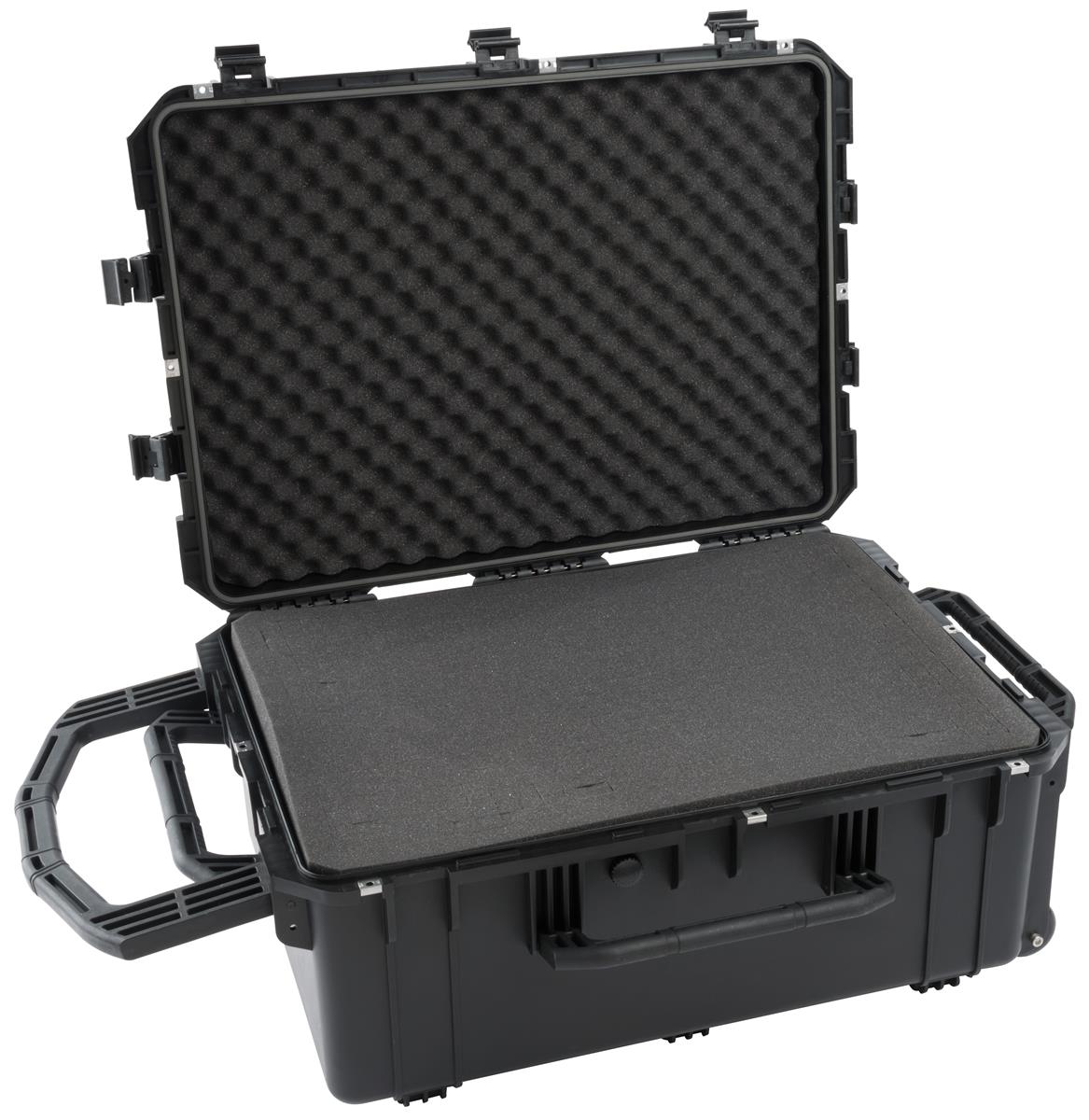 Waterproof Cubed Foam Equipment Case Customizable Padded