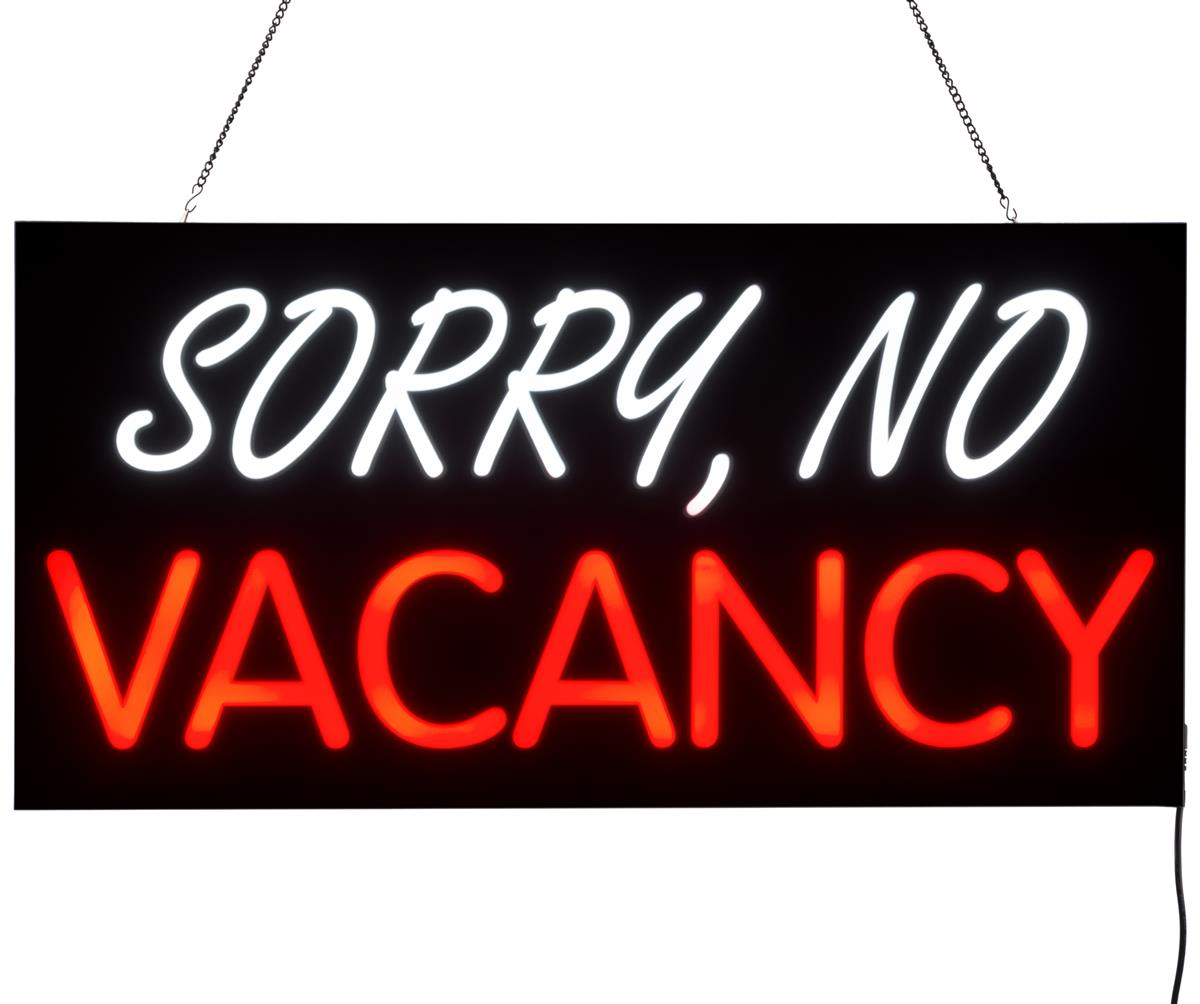 Led No Vacancy Sign Bright Signage For Motel And Hotels