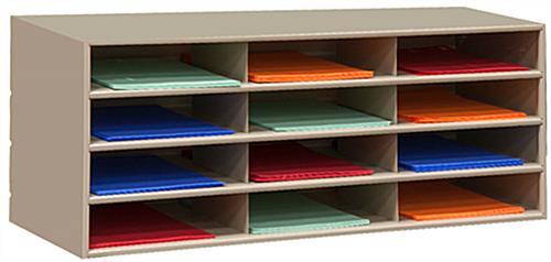 literature sorter with metal build