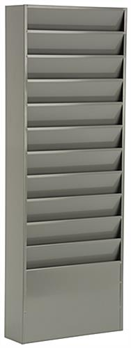 Wall Hanging File Organizer - Gray