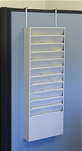 vertical file organizer for letter size folders hanging