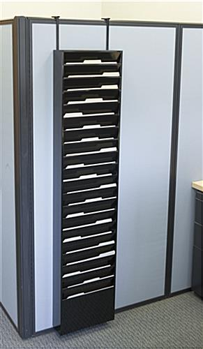 Wall Mounted File Organizer Metal Filing System