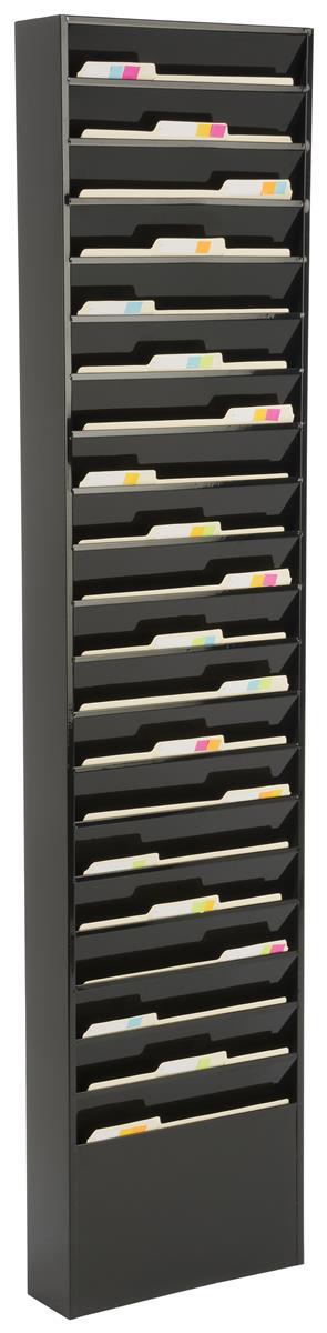 Wall Mounted File Organizer | Metal Filing System