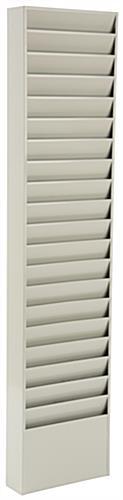 Metal Wall File wall file folder holder   steel w/ 20 pockets