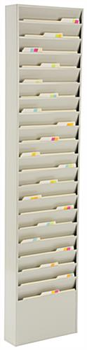 Wall File Folder Holder with 20 Pockets