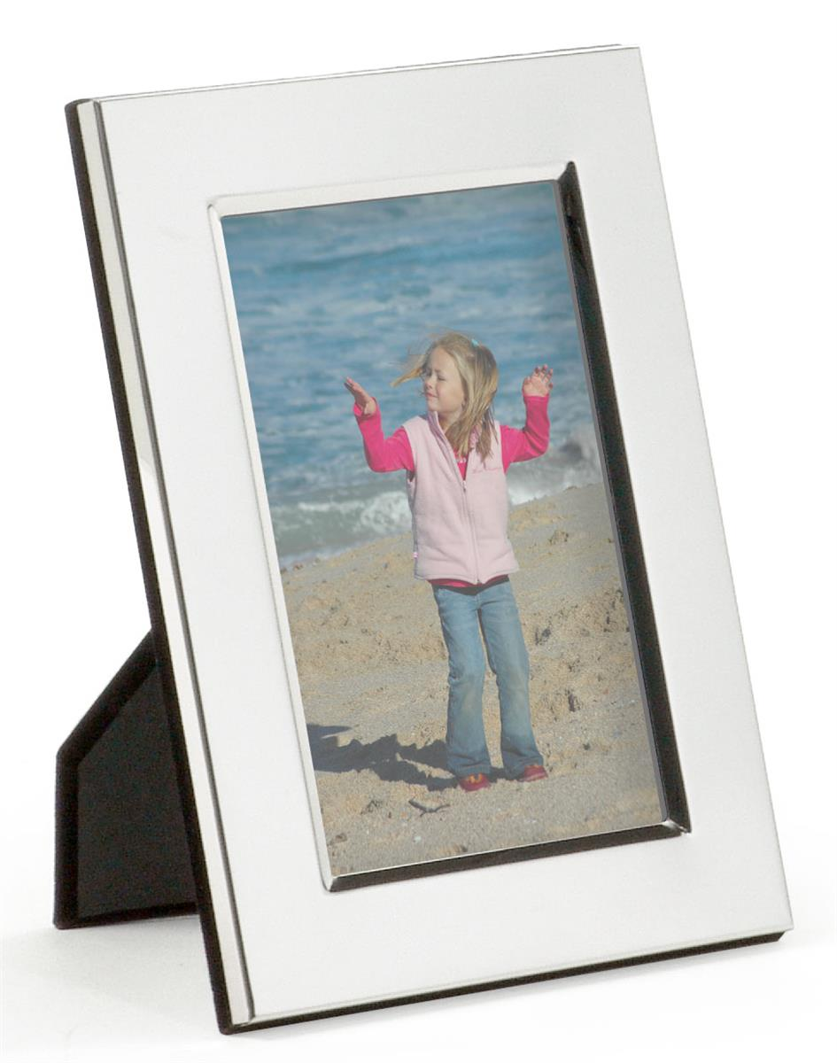 Silver plated picture frames for tabletop portrait or landscape jeuxipadfo Choice Image
