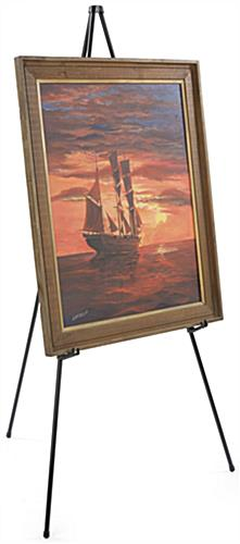 Floor Standing Tripod Easel for Large Paintings